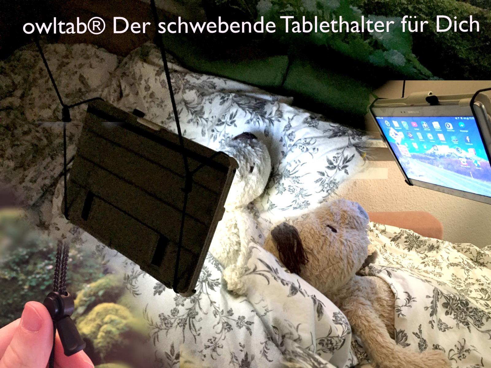 Die owltab Tablethalterung ist günstig und einfach in der Installation und Handhabung.
