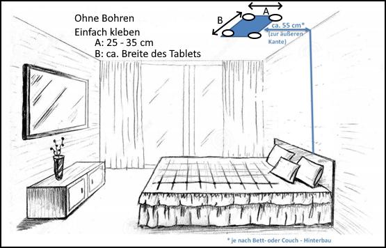 Anleitung-Montage-Kleben-owltab-tablet-ipad-halter-halterung-bett